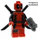 Lego Marvel Super Heroes Deadpool 2012 minifigure @sold@